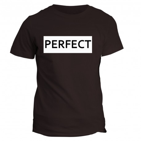 T-shirt napis PERFECT