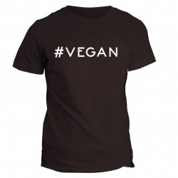 T-shirt napis VEGAN