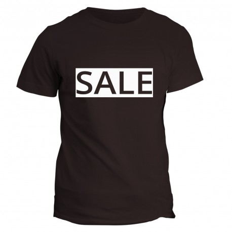 T-shirt z napisem SALE