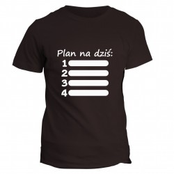 T-shirt Plan na dziś