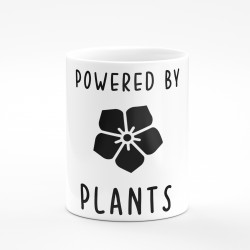 Kubek powerd by plants