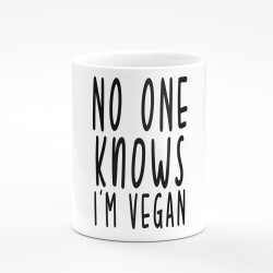Kubek no one knows I'm vegan