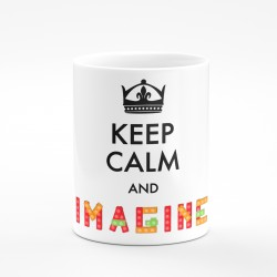 Kubek keep calm and imagine